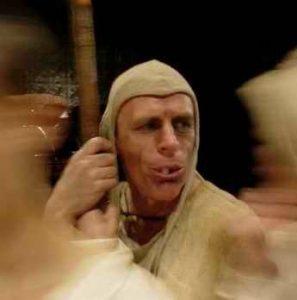 As Tiresius in Dzieci's Feast of Fools