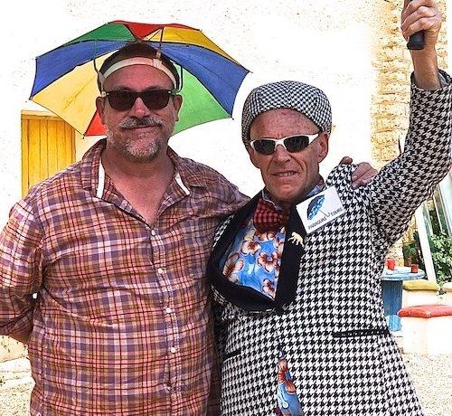 Jef Johnson & Johnny Melville's clown intensives 2020